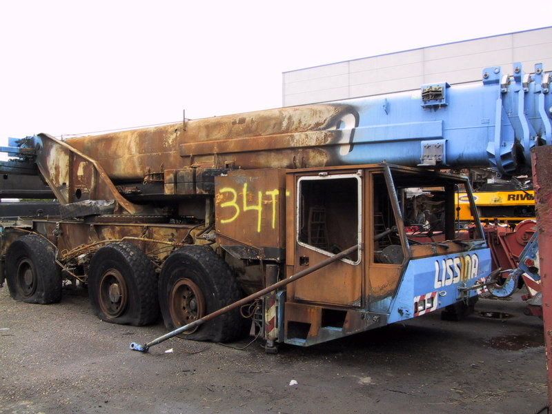 Demag AC 155 for parts - Crane sales - UCM Holland, we buy and sell ...