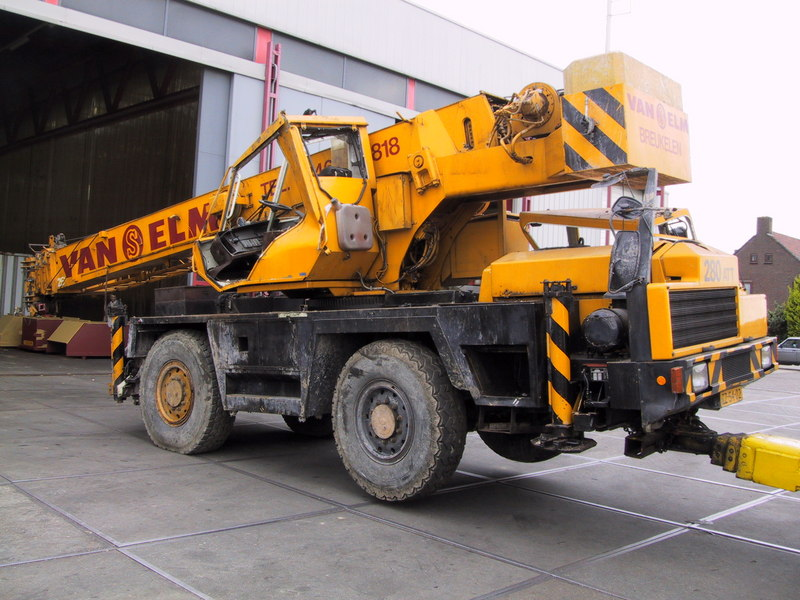 PPM 280 ATT for parts - Crane sales - UCM Holland, we buy and sell ...