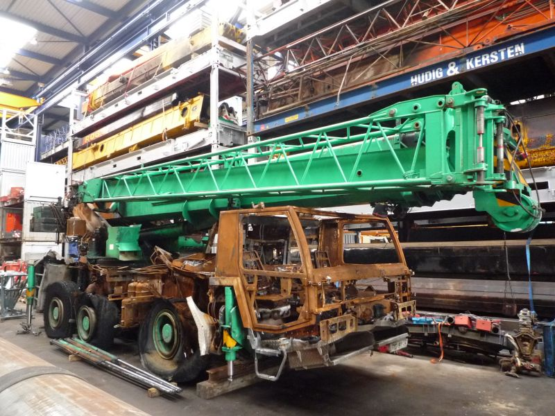 Faun ATF 60-3 for parts - Crane sales - UCM Holland, we buy and sell ...