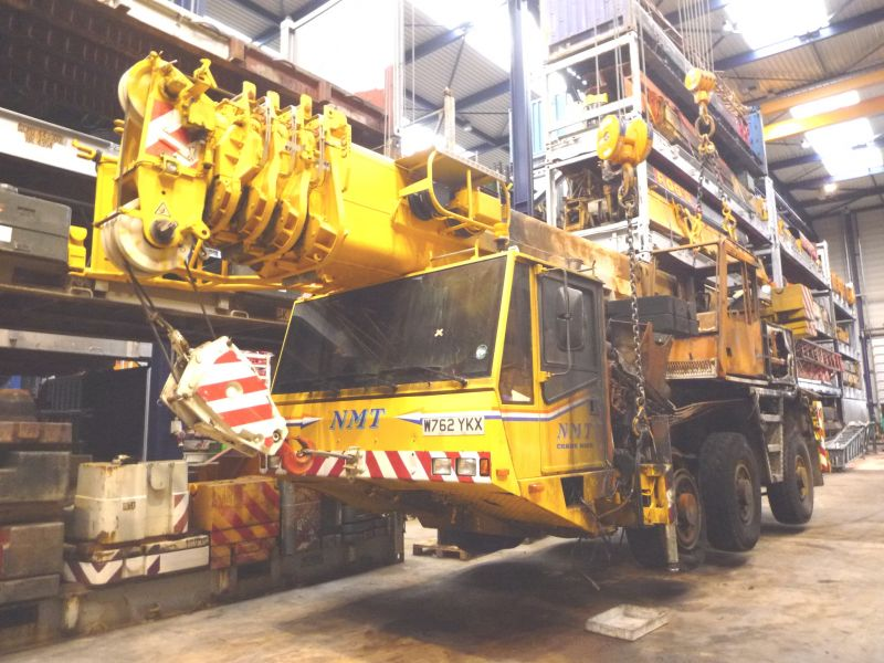 Demag AC 50 for parts - Crane sales - UCM Holland, we buy and sell ...