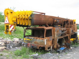 Liebherr LTM 1090/2 for parts