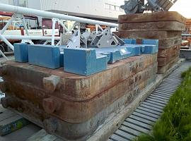 21 Ton Counterweight Plates