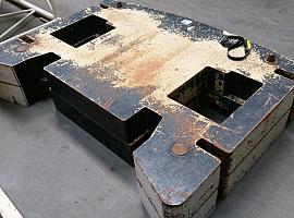 Demag AC 350-1 counterweight 10 t