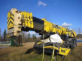 Liebherr LTM 1160-2 for parts