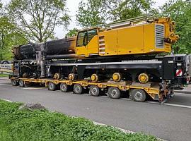 Liebherr LTM 1400-7.1 for parts