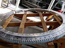 Liebherr LTM 1400-7.1 slewring