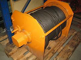 Faun ATF 30 winch