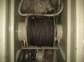 Liebherr LTM 1045 sec winch