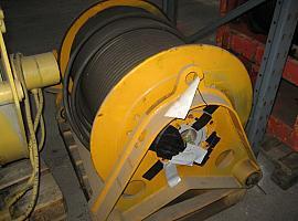 Liebherr LTM 1080/1 winch