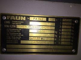 Faun ATF 50G-3 lower cab