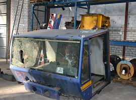 Demag AC 155 lower cab