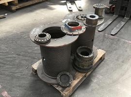 Krupp KMK 4070 winch