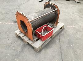 Faun RTF 50 winch