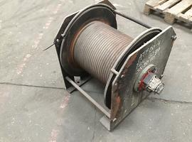 Faun ATF 60-4 winch
