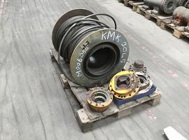 Krupp KMK 3045 winch