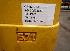 Counterweight Grove GMK 3055