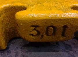 Counterweight LTM 1100 5.2 ballast 3.0 ton