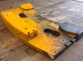 Counterweight LTM 1100-5.2   0.93 ton