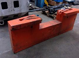 SK 598 at 5 ballast ,midden achterop A frame