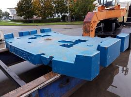 Terex explorer 5800 10.5 ton counterweight