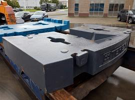 Terex explorer 5600 9.7 ton counterweight