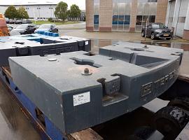 Terex explorer 5500 11 ton counterweight