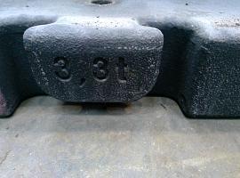 LTM 1080-1 counterweight 3.3 ton