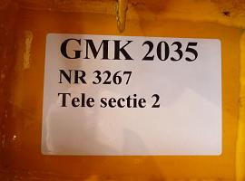 GMK 2035 telescopic T2 section