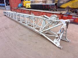 LTM 1035-2 dubbel folding jib