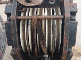 Hookblock 23mm 5 sheave 125t