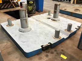 LTM 1250-6.1 counterweight base 10t