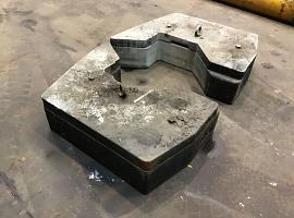ATF 60-4 counterweight 0,51+0,16 t
