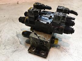 Slide valve block