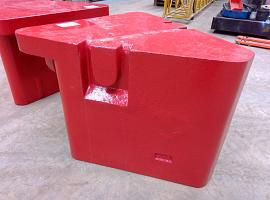 GMK 5130-1/2 counterweight 5.8 ton