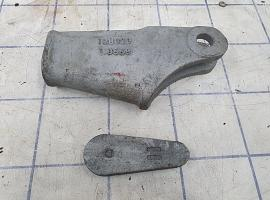 Wire rope wedge clamp