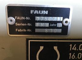 Faun ATF 45-3 upper cabin