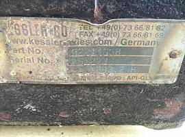 GMK 5100 Diff box axle 2