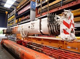 GMK 4080-1 boom