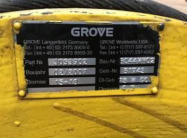 Grove GMK 5100 winch