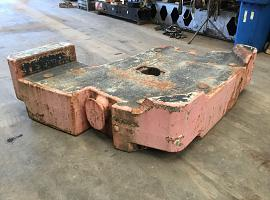 Terex Demag Counterweight 10 ton right