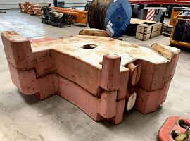 AC 350-700 Counterweight 10 ton