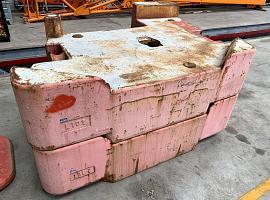 Terex Demag Counterweight 10 ton left