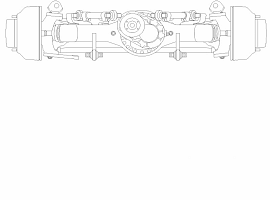 Liebherr LTM 1070-4.1 Axle 3