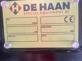 Hookblock 22mm 3 sheave - 56t