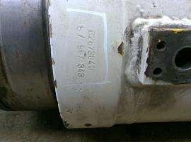 Demag AC 395 Boom cylinder