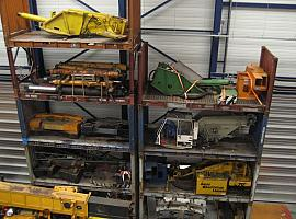 used parts for mobile cranes