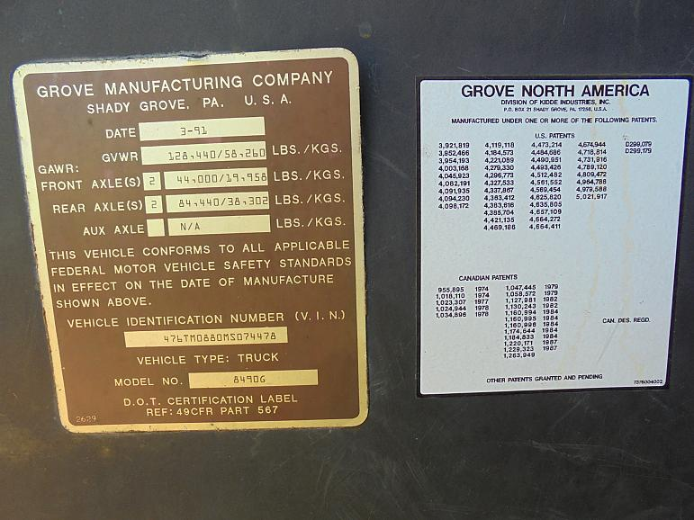 Grove TM 880